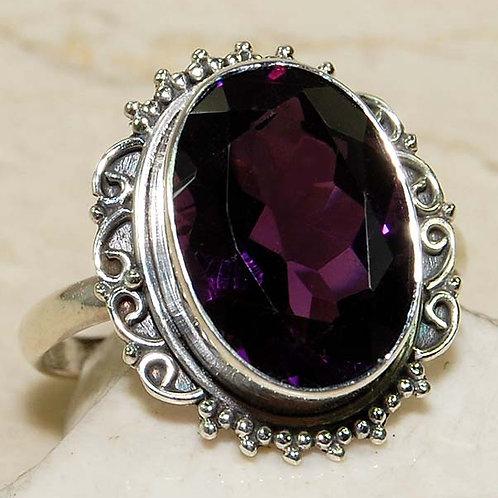 #261 - 10 carat Amethyst & 925 SolidSterlingSilver Ring