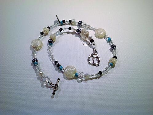 Item #781– Single strand, doublewrap bracelet, anklet, or possible choker