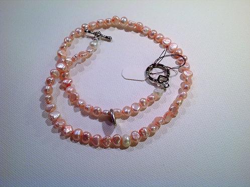 Item #777– Single strand, doublewrap bracelet/anklet or possible chokerl