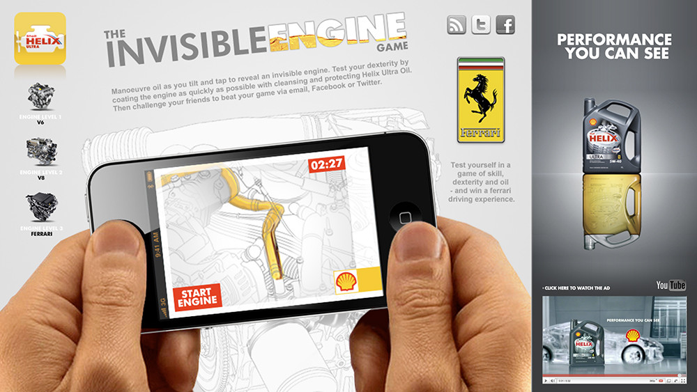 Shell Invisible Engine game