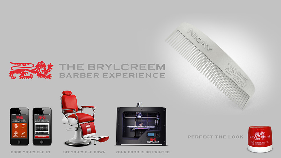 Brylcreem Barber Experience