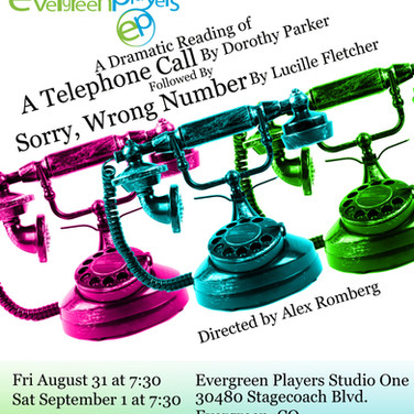 The Telephone Readings Poster