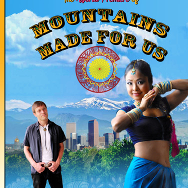 Mountains Made For Us Postcard
