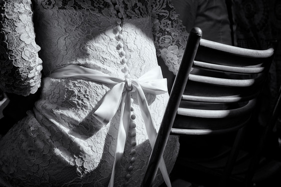 Brautkleid mit Masche