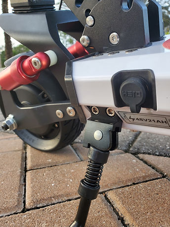 Hero S8 S9 Electric Scooter Charging Port