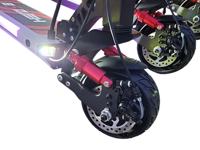 Hero S8 electric scooter front