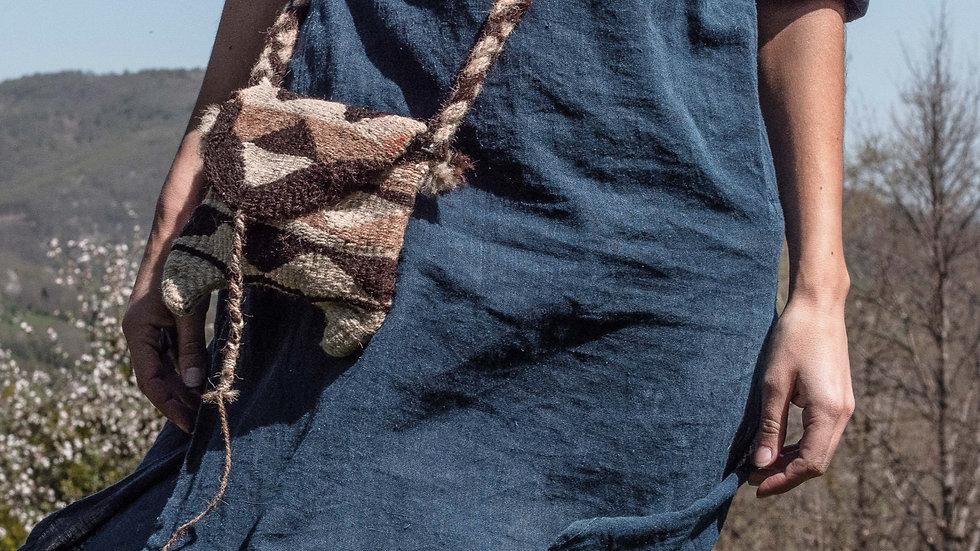 Raika Camel Wool Bag - Antique