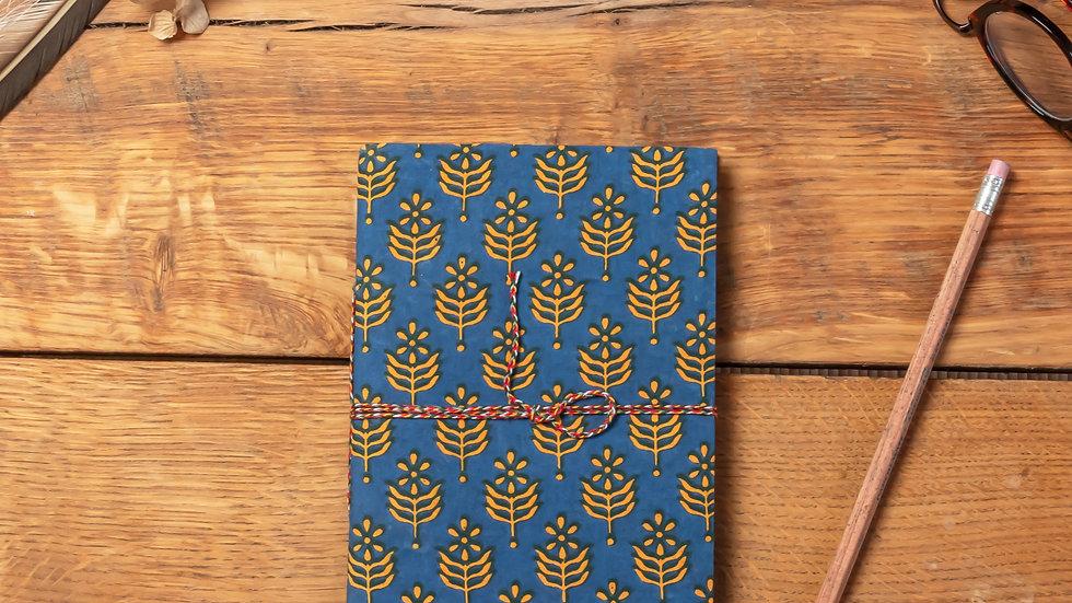 Bagru Diary (recycled handmade paper)