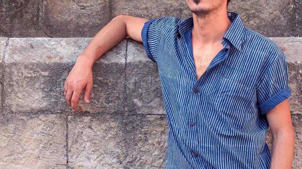 Indigo Sadhna-Dabu Shirt