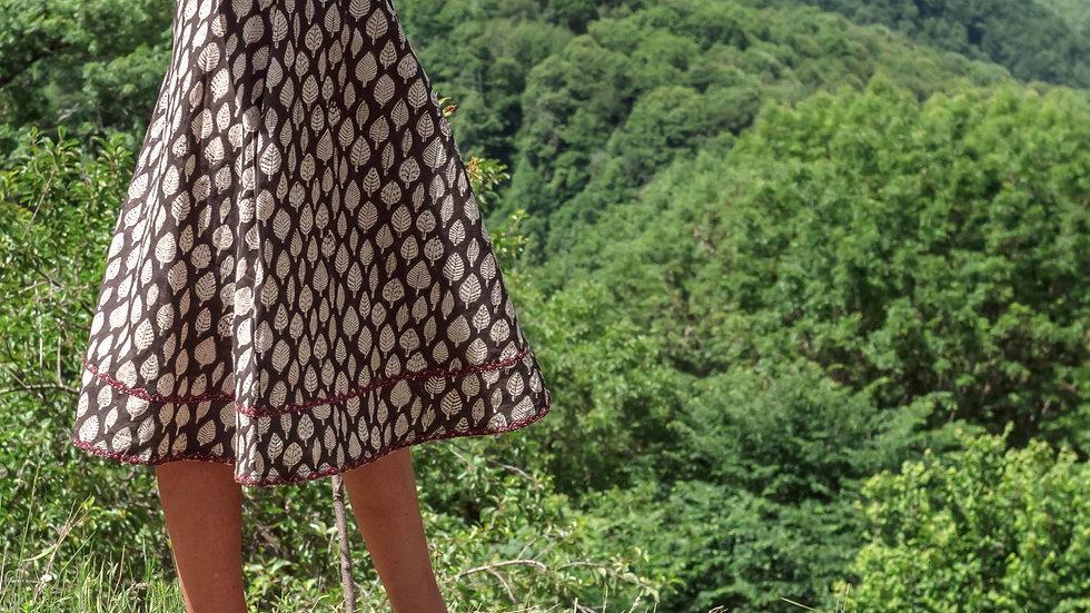 Sadhna-Dabu Skirt