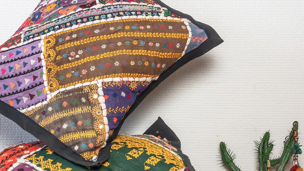 Antique Thar Desert Gypsies' (cushion cover)
