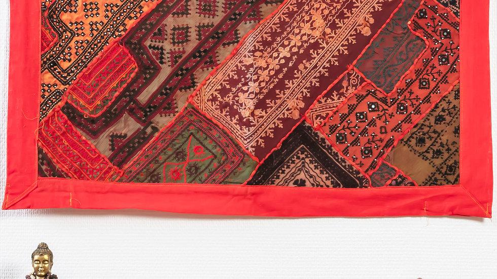 Antique Thar Desert Gypsies' Tapestry