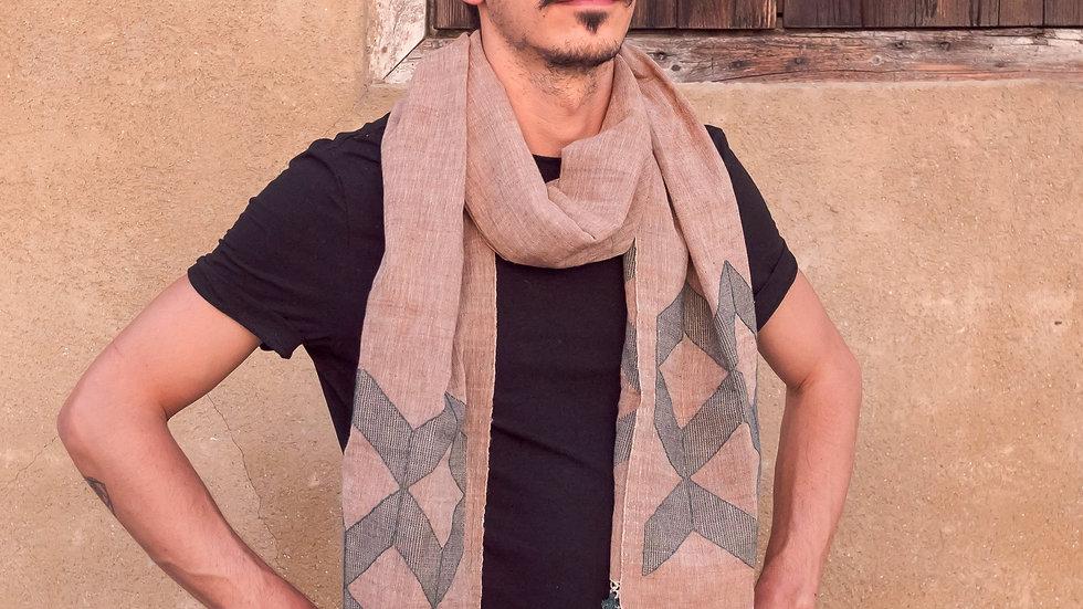 Khadi Kala Cotton Shawl