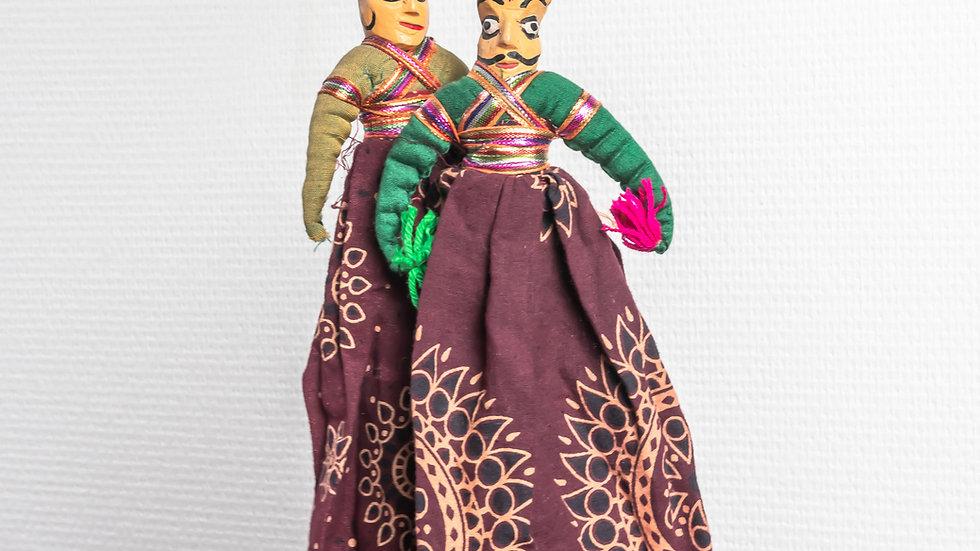 Small Kathputli Couple