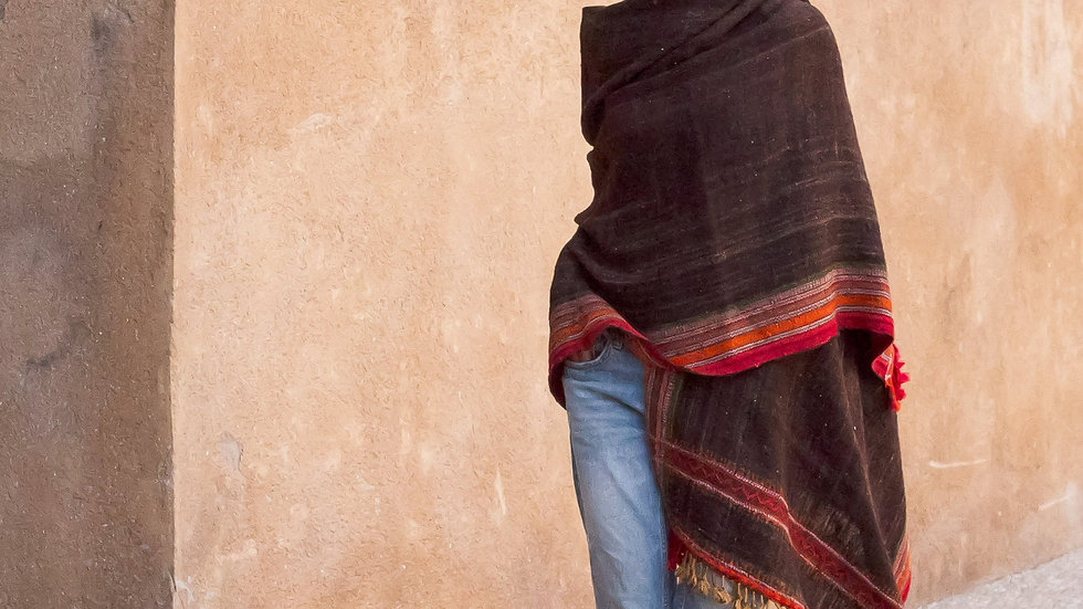 Kutchi Sheep Wool Shawl
