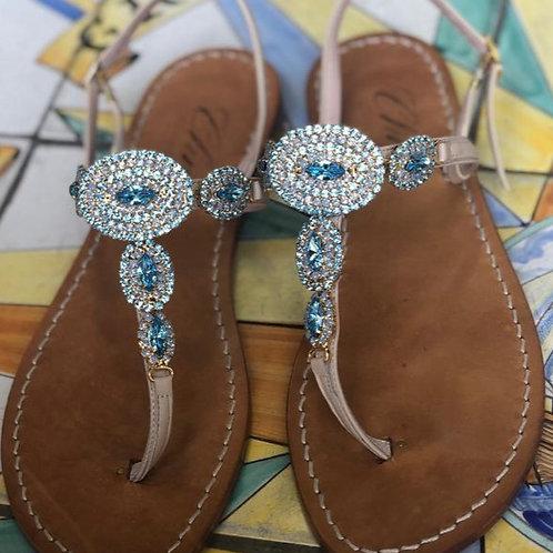 Sandalo gioiello Ovale