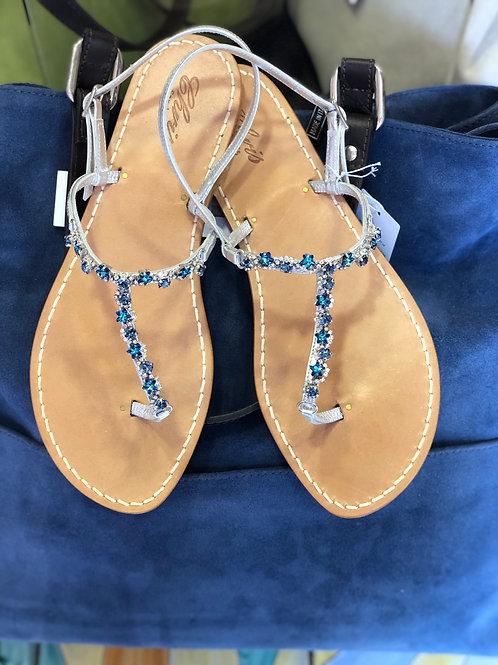 Sandalo in swarovski stelle