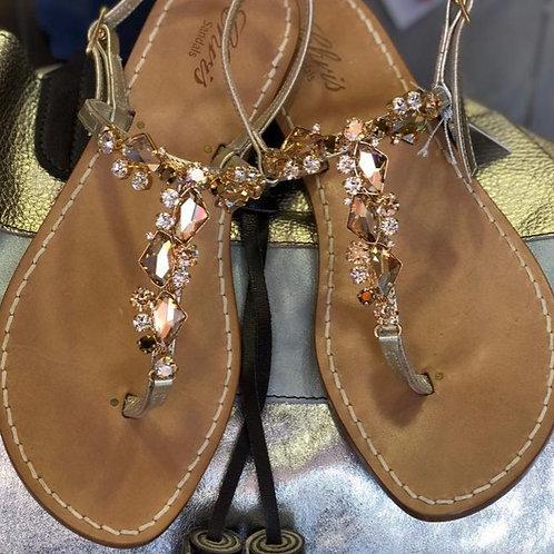 Sandalo in Swarovski