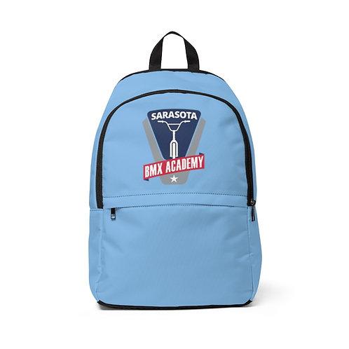 Unisex Fabric Backpack Light Blue  I  Sarasota BMX Academy