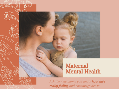 Are You Suffering from Maternal Mental Health Issues?