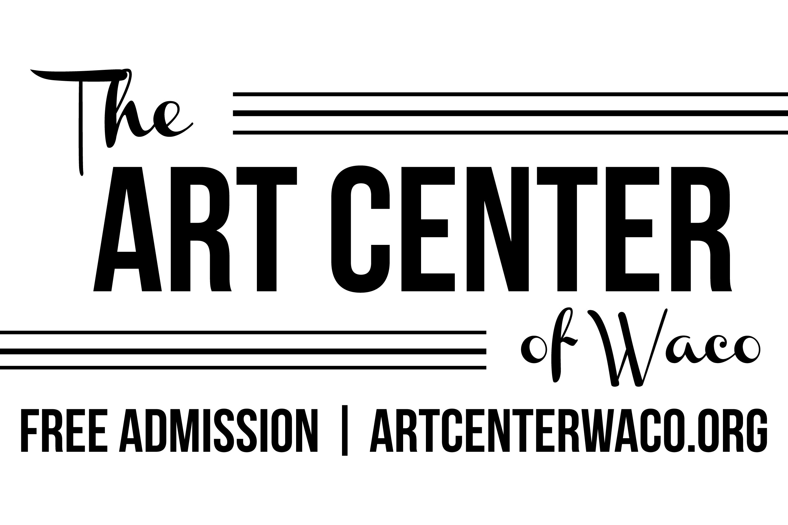 The Art Center front sign option