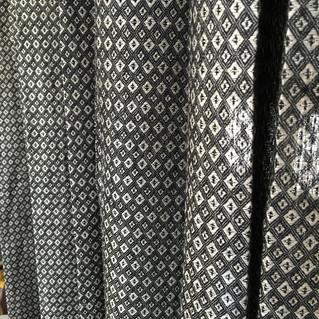 リトアニアリネンのカーテンが出来上がりました