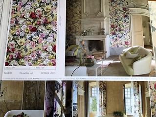お部屋のアクセントに輸入壁紙・・ギルドの壁紙をご用意しました。