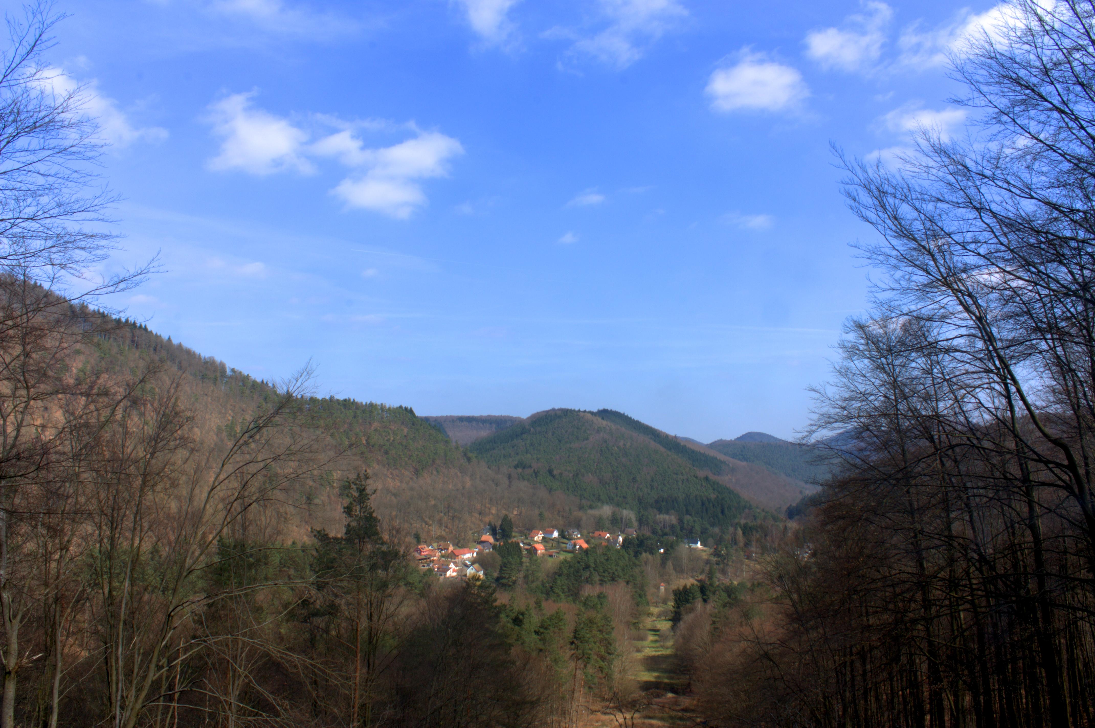 Hameau de Wengelsbach en Alsace