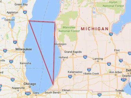 Bermuda Triangle Of The Great Lakes: Destruction, UFO's, Disappearances, Death, and Ghosts