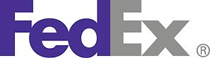 Fedex logo for hazardous material shipment, also known as dangerous goods, hazmat, DG, DGD, RA, restricted articles all refer to hazmat shipments