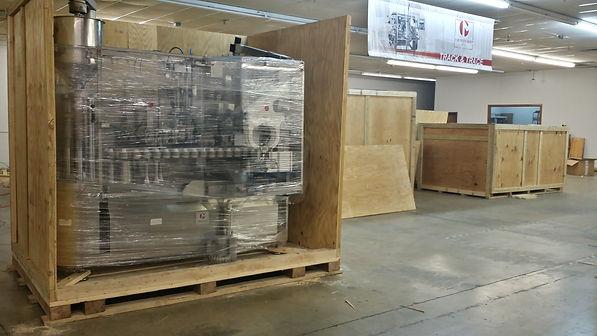 Machine, crating, crate, crates, wood, wooden, wood crate, wooden crating, wood crating, packaging, boxes, wood box, ISPM-15, export, export crating, IPPC, fumigated, HT, heat trea
