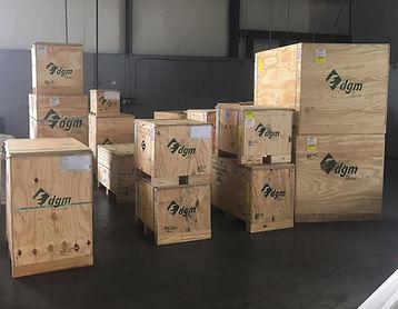 Wood box, crates, export crating, cratin