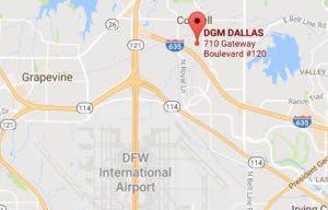 DGM DALLAS MOVES TO A NEW LOCATION
