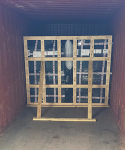 Blocking and bracing ocean container dangerous goods limited quantity according to IMDG code_edited