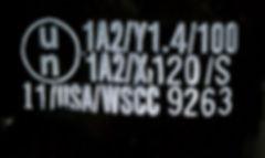 UN specification, UN spec, UN code, steel drum, steel, drum, 1A1, 1A2, hazmat, hazardous material, dangerous goods, packaging, restricted articles, RA, IATA, CFR49, IMDG, IMDG code