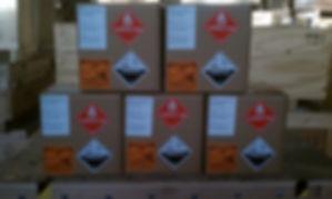 class 3, class 8, flammable liquid, corrosive, CAO, cargo aircraft only, drums, overpack, hazmat, harzardous materials, dangerous goods, DGR, IATA, ICAO, IMDG, IMDG code, RA, restricted articles, packaging, UN spec, UN specification