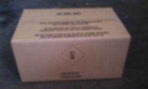 4G fibreboard box, 4GV hazmat packaging, dangerous goods packaging UN spec, UN specification hazardous material boxes for IATA, CFR49, ICAO, IMDG code