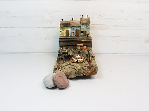 Driftwood Houses - Handmade and Original Sculpture by David from Salty Seas no24
