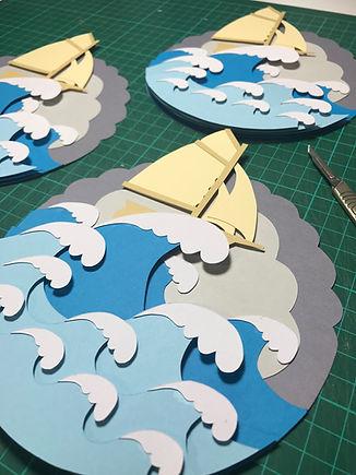 Papercut Illustrations by Salty Seas