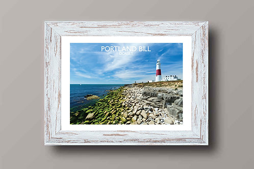 Portland Bill in Dorset, England - Signed Travel Print by David at Salty Seas
