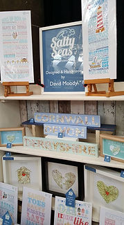 Salty Seas, Shipping Forecast, Framed Prints, Seaside, Coast, Coastal, Devon, Cornwall, Dorset, St Ives, Dartmouth, Seaside, Beach Huts, Illustrations, Map Hearts, Framed Artwork, Holiday