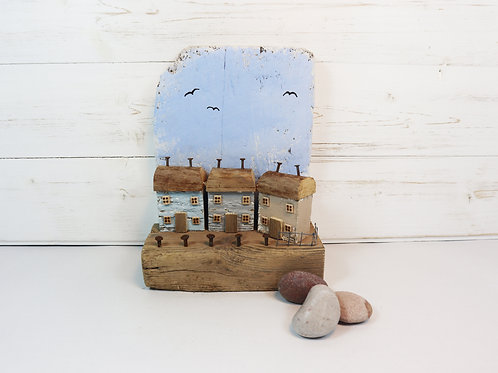 Driftwood Houses - Handmade and Original Sculpture by David from Salty Seas no50
