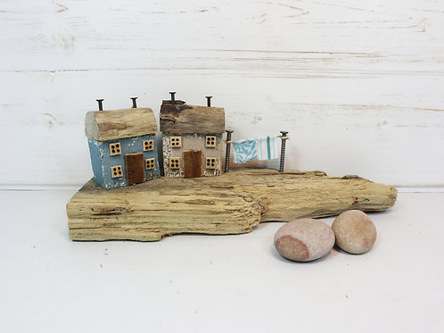 Driftwood Houses - Handmade and Original Sculpture by David from Salty Seas no8