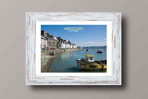 Aberdovey, Gwynedd in Wales - Signed Travel Print by David at Salty Seas
