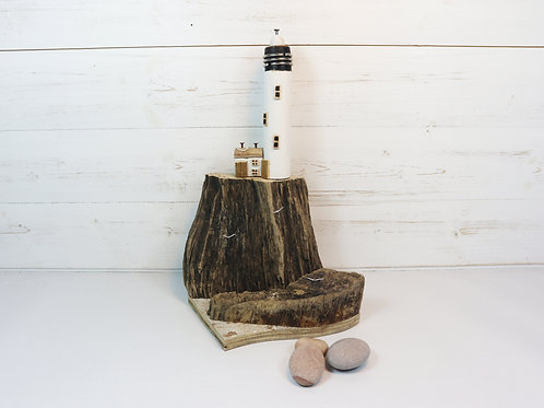 Driftwood Houses - Handmade and Original Sculpture by David from Salty Seas no20