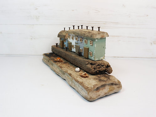Driftwood Houses - Handmade and Original Sculpture by David from Salty Seas no40
