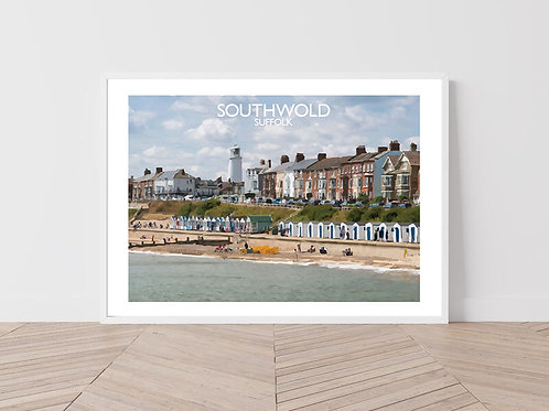 Southwold in Suffolk, England - Signed Travel Print by David at Salty Seas