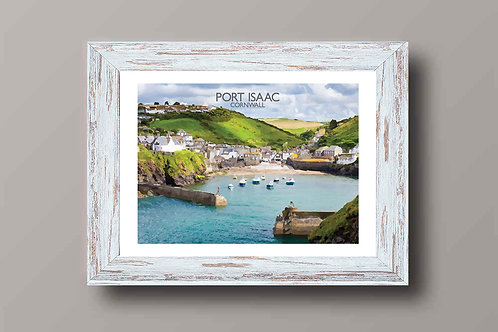 Port Isaac In Cornwall - Signed Travel Print by David at Salty Seas