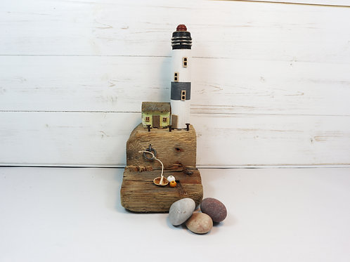 Driftwood Houses - Handmade and Original Sculpture by David from Salty Seas no43