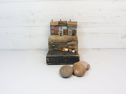 Driftwood Houses - Handmade and Original Sculpture by David from Salty Seas no33